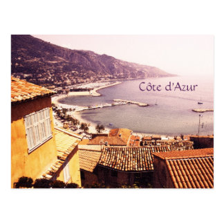 Côte d'Azur, Menton postcard