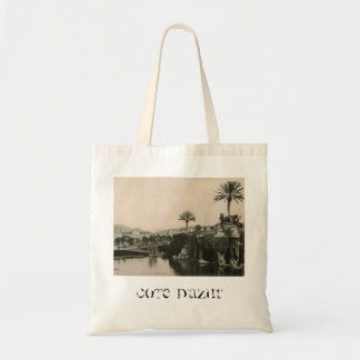 Cote D'Azur Nice  La Casino 1910 Tote Bag