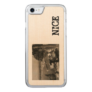 COTE D'AZUR - Nice 'Promenade des Anglais' 1950 Carved iPhone 8/7 Case