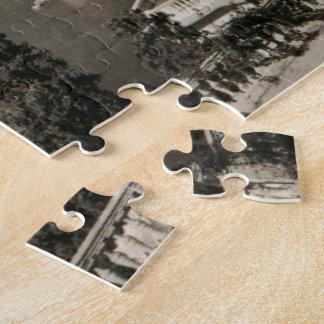 COTE D'AZUR - Nice 'Promenade des Anglais' 1950 Puzzle
