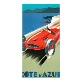 Cote d'Azur Photo Card
