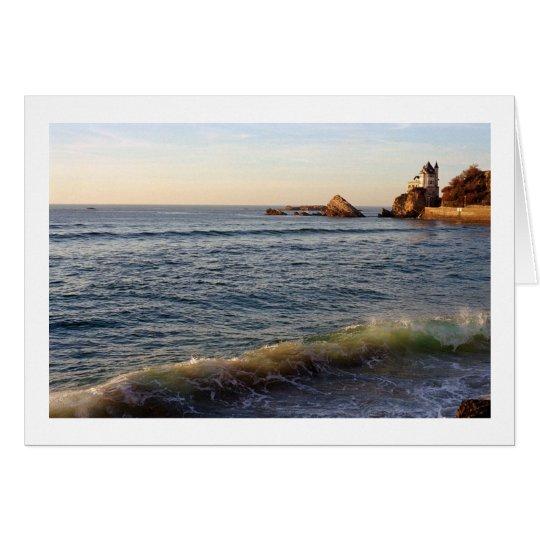 Côte des Basques, Biarritz, France Card