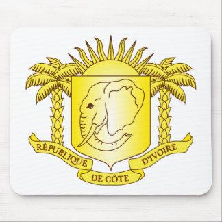Cote d'Ivoire Coat of arms CI Mouse Pad