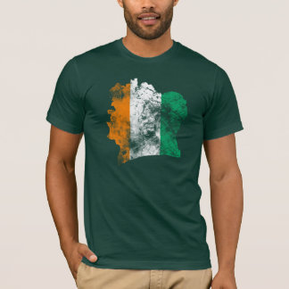 Côte d'Ivoire Distressed Flag T-Shirt
