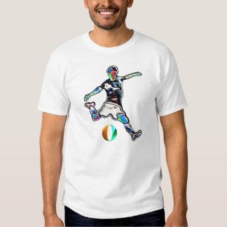Cote d'Ivoire flag football soccer jersey t-shirt