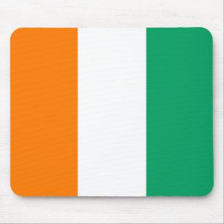 Cote d'Ivoire Flag Mousepad
