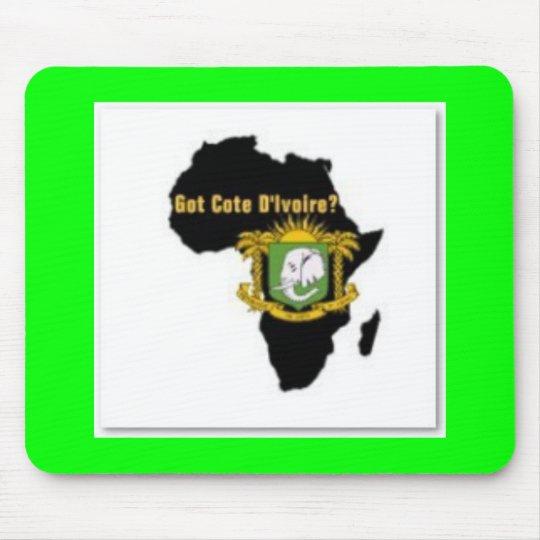 """""""Côte d'Ivoire"""" Flag T-Shirt  And Etc Mouse Pad"""