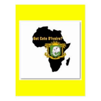 """""""Côte d'Ivoire"""" Flag T-Shirt  And Etc Post Cards"""