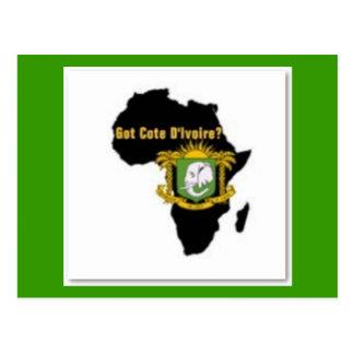 """""""Côte d'Ivoire"""" Flag T-Shirt  And Etc Postcards"""