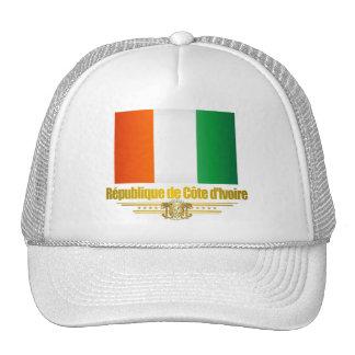 Cote d'Ivoire Flag Trucker Hat