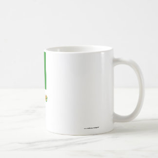 Cote D'Ivoire Flag with Name Coffee Mug