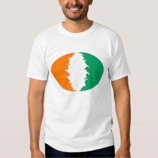 Cote d'Ivoire Gnarly Flag T-Shirt