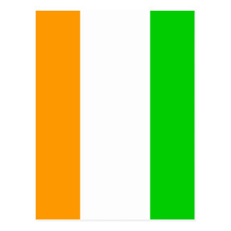 Cote Divoire High quality Flag Post Cards