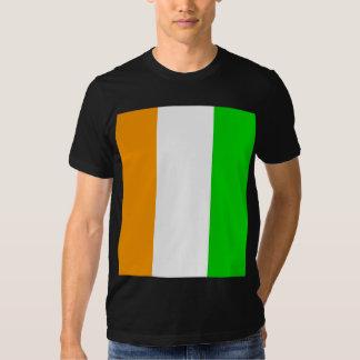 Cote Divoire High quality Flag Tee Shirt