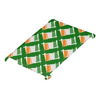 Cote d'Ivoire Ivory Coast Brush Flag iPad Covers