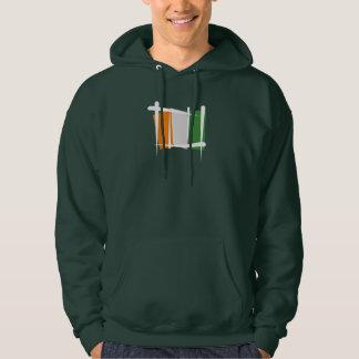 Cote d'Ivoire Ivory Coast Brush Flag Sweatshirts