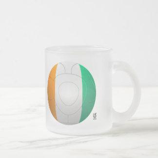 Côte d'Ivoire  - Les Éléphants Football Frosted Glass Coffee Mug