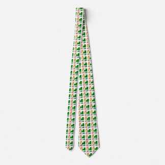 Cote D'Ivoire Soccer Ball and Flag Neck Tie