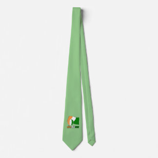 Cote D'Ivoire Soccer Ball and Flag Tie