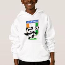 Cote D'IVoire Soccer Panda Hoodie
