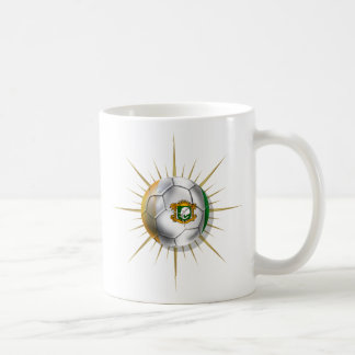 Côte D'Ivoire Soccer Starburst Coffee Mug