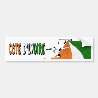 Cote d'Lvoire Bumper Sticker