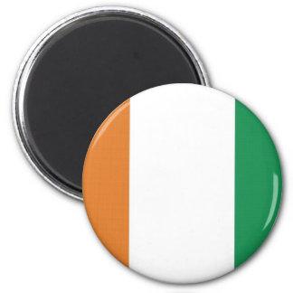 CotedIvoire National Flag 2 Inch Round Magnet