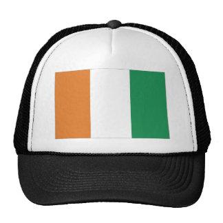 CotedIvoire National Flag Trucker Hat
