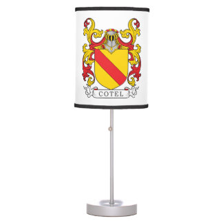 Cotel Family Crest Table Lamp