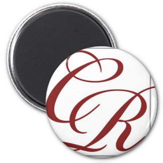 Coterie Rouge 2 Inch Round Magnet