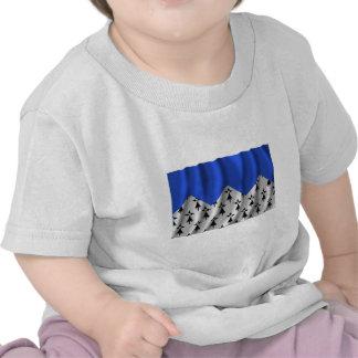 Côtes-d'Armor waving flag T-shirt