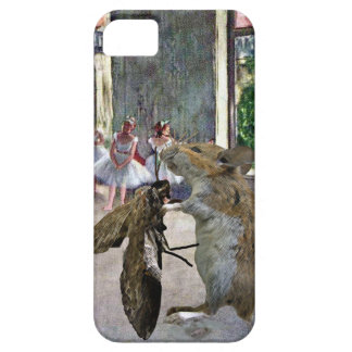 Cotillion de la polilla y del ratón iPhone 5 carcasa