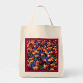 Cotillion del jardín del tulipán del jacinto bolsa tela para la compra