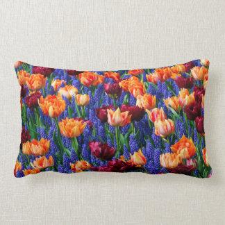 Cotillion del jardín del tulipán del jacinto cojín