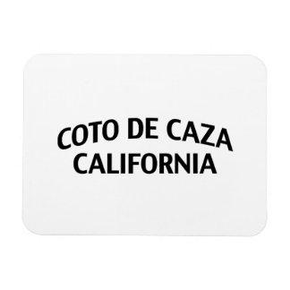 Coto de Caza California Imán Flexible