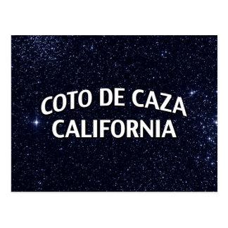 Coto de Caza California Postal
