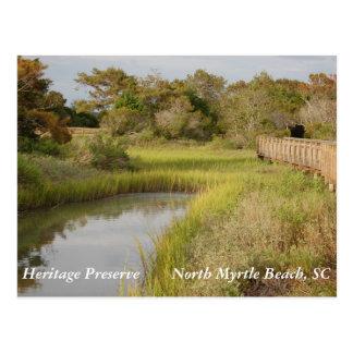 Coto de la herencia - Myrtle Beach del norte, SC Tarjetas Postales