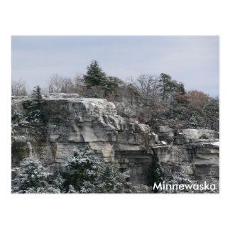 Coto del parque de estado de Minnewaska Tarjetas Postales