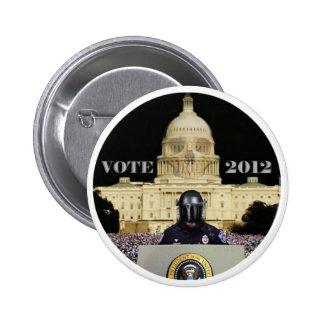 Coto del voto 2012 el mito versión de Obama Pin