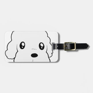 coton de tulear 2 sided head.png bag tag