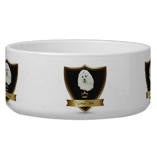 Coton de Tulear Bowl