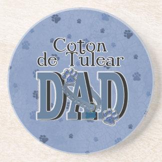 Coton de Tulear DAD Coaster