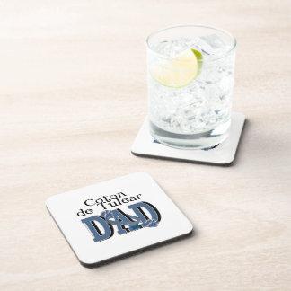 Coton de Tulear DAD Beverage Coaster