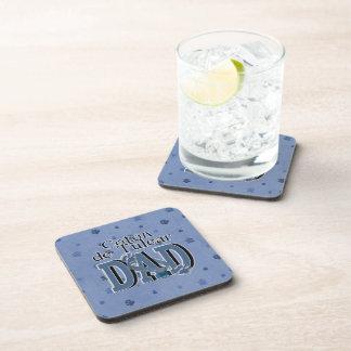 Coton de Tulear DAD Coasters