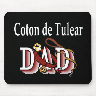 Coton de Tulear DAD Gifts Mouse Pad