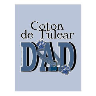 Coton de Tulear DAD Postcard