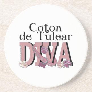 Coton de Tulear DIVA Coaster