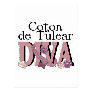 Coton de Tulear DIVA Postcard