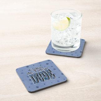 Coton de Tulear DUDE Drink Coasters