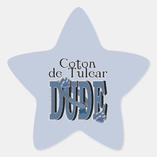 Coton de Tulear DUDE Star Sticker
